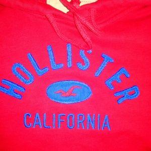 5/25$ Red Hollister Hoodie